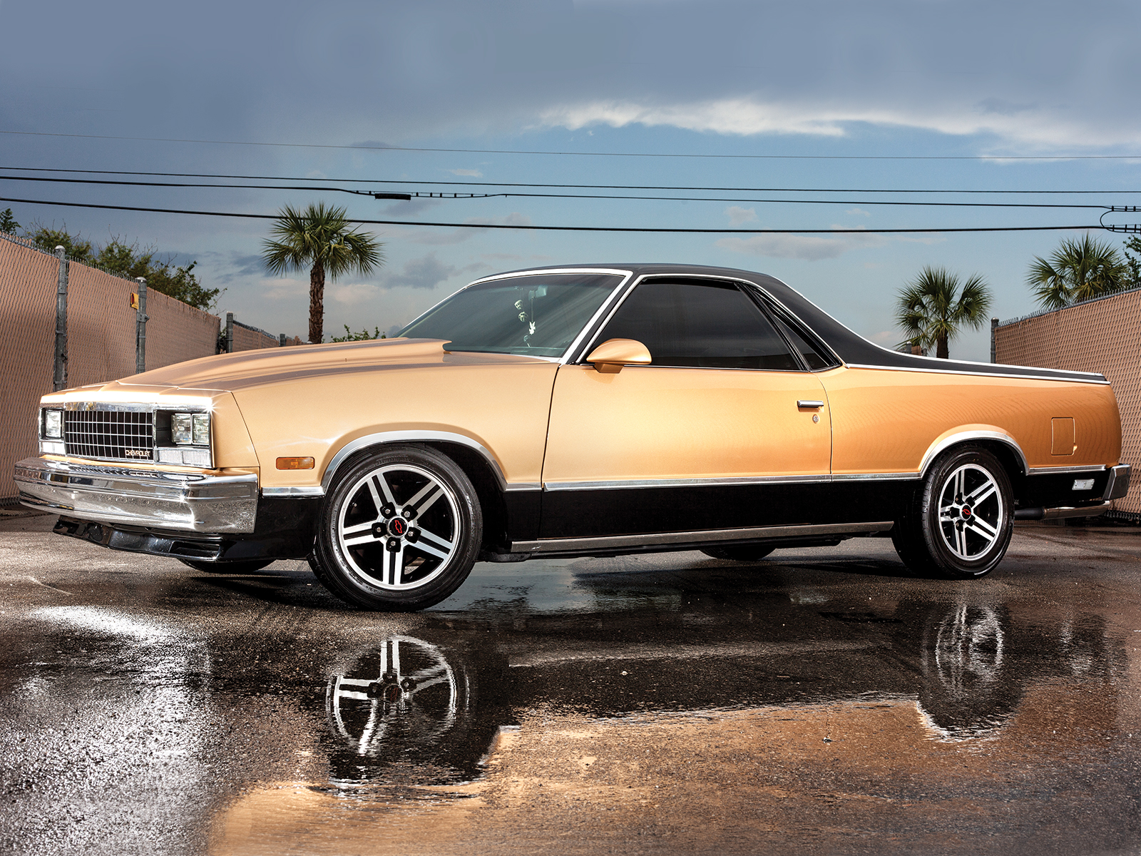 1986 chevrolet el camino front side view